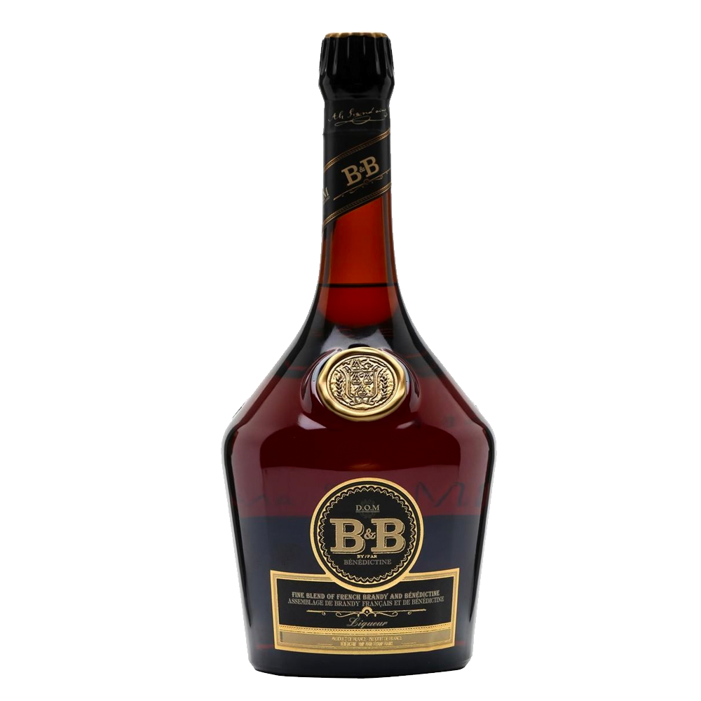B & B BRANDY AND BENEDICTINE LIQUEUR 1L