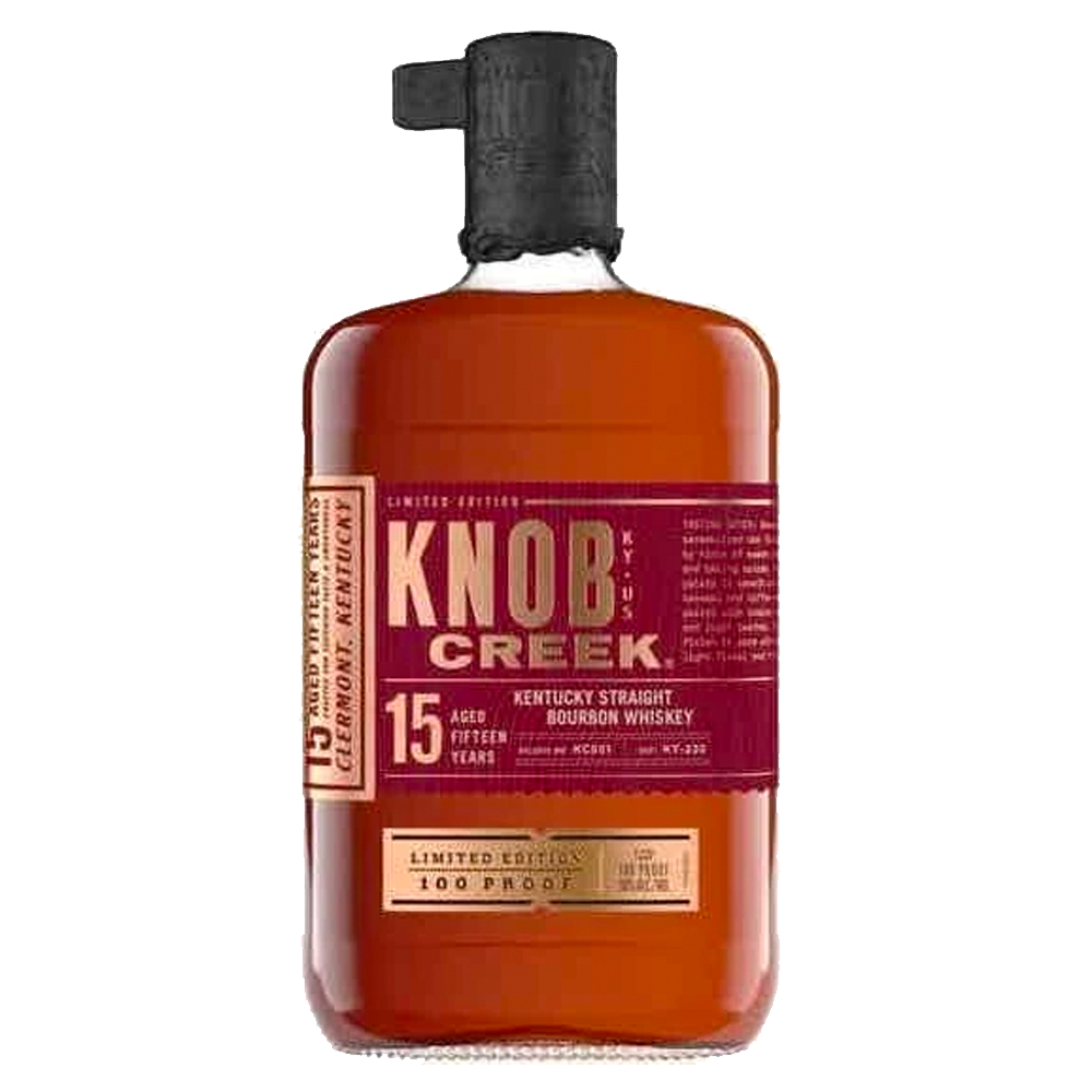 KNOB CREEK 100 PROOF 15 YEAR OLD KENTUCKY BOURBON (5404925427866)