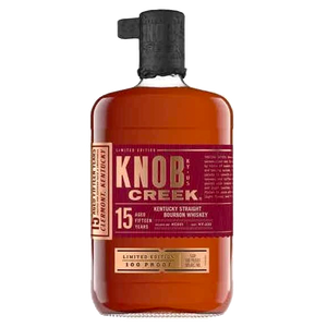 Load image into Gallery viewer, KNOB CREEK 100 PROOF 15 YEAR OLD KENTUCKY BOURBON (5404925427866)
