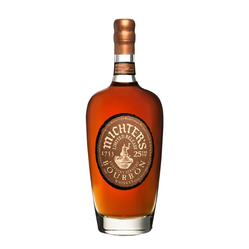 MICHTER'S LIMITED RELEASE 25 YEAR OLD BOURBON