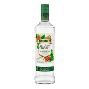 Load image into Gallery viewer, SMIRNOFF WATERMELON MINT ZERO SUGAR VODKA