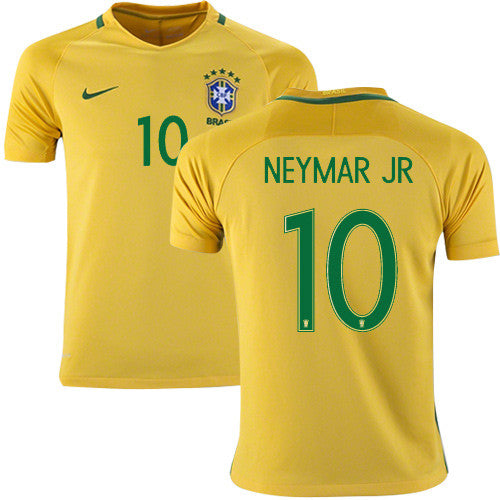 2018 World Cup Neymar Brazil National Team Jersey - La Vinotinto Shop