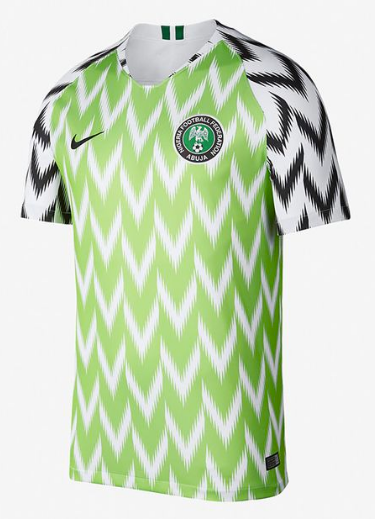 2018 World Cup Nigeria National Team Home Jersey - Kids - La Vinotinto Shop