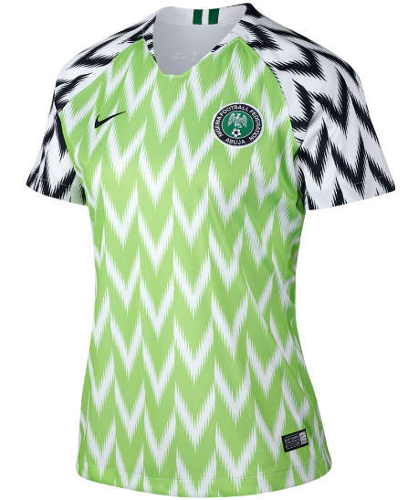 purchase cheap 99123 77318 2018 World Cup Nigeria National Team Home Jersey - Women