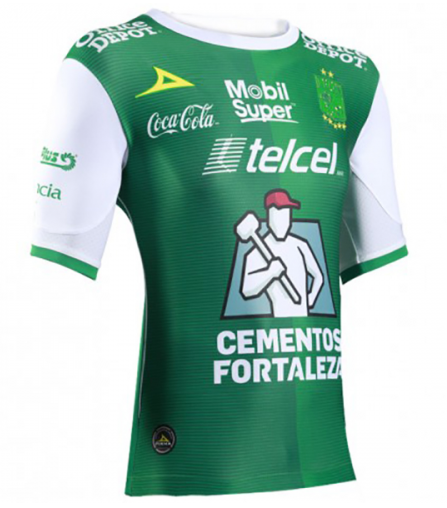 buy online 1e802 0d24a Club Leon Home Jersey