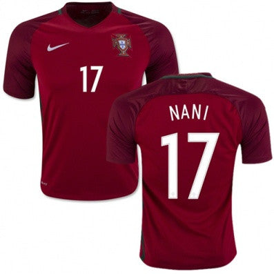 newest d8174 52c15 2018 World Cup Nike Nani Portugal National Team Jersey