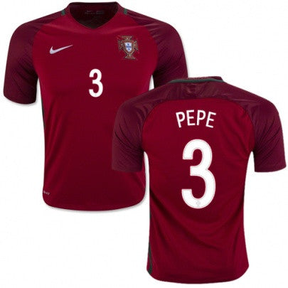 2018 World Cup Nike Pepe Portugal National Team Jersey - La Vinotinto Shop