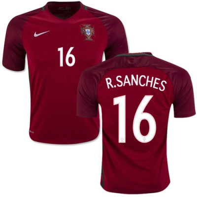 2018 World Cup Nike Renato Portugal National Team Jersey - La Vinotinto Shop
