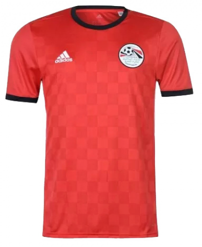 2018 World Cup adidas Egypt National Team Home Jersey - La Vinotinto Shop