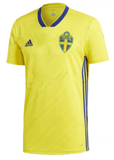 2018 Sweden National Team Home Jersey - La Vinotinto Shop