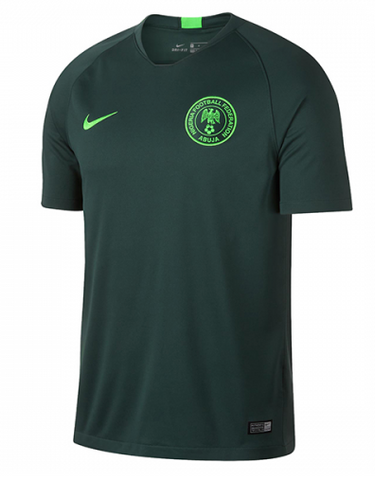2018 World Cup Nigeria National Team Away Jersey