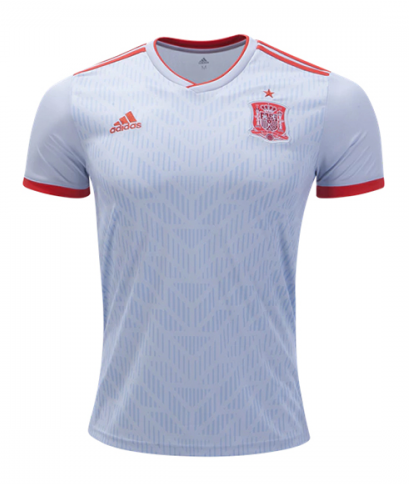 2018 World Cup adidas Spain National Team Away Jersey - La Vinotinto Shop