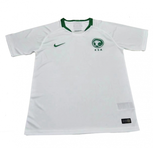 2018 World Cup Nike Saudi Arabia National Team Home Jersey - La Vinotinto Shop