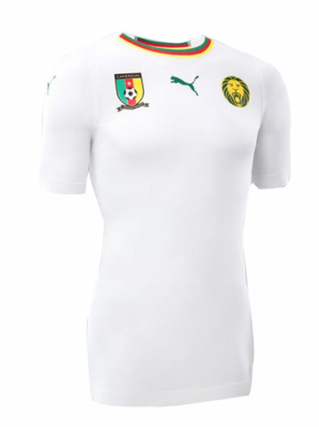 2018 World Cup Puma Cameroon National Team Away Jersey