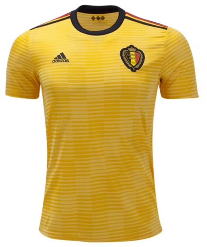 2018 World Cup adidas Belgium National Team Away Jersey - La Vinotinto Shop