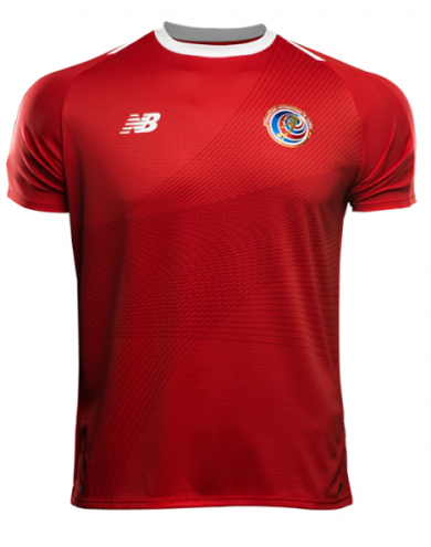 2018 World Cup Costa Rica National Team Home Jersey - La Vinotinto Shop