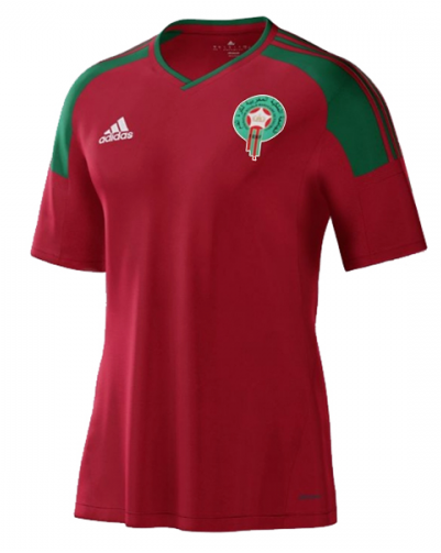 2018 World Cup Morocco National Team Home Jersey - La Vinotinto Shop