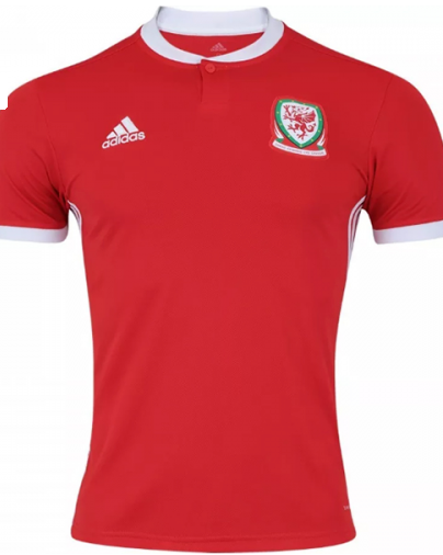 Wales adidas National Team Home Jersey - Red - La Vinotinto Shop