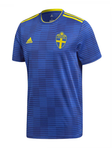 2018 World Cup Sweden National Team Away Jersey - La Vinotinto Shop