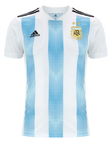 2018 World Cup adidas Argentina Home Jersey