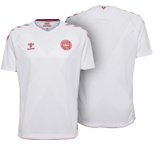 2018 World Cup Denmark National Team Away Jersey - La Vinotinto Shop