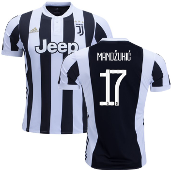 lowest price 4d414 68302 2018-19 Season adidas Juventus FC Mandzukic #17 Home Jersey