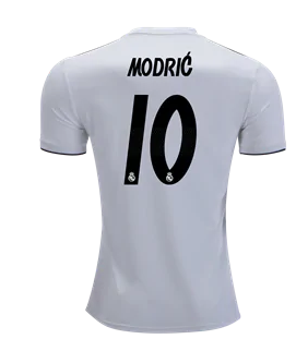 hot sale online 1b814 874d1 2018-19 Season adidas Men's Modric #10 Real Madrid Club Team Home Jersey -  White