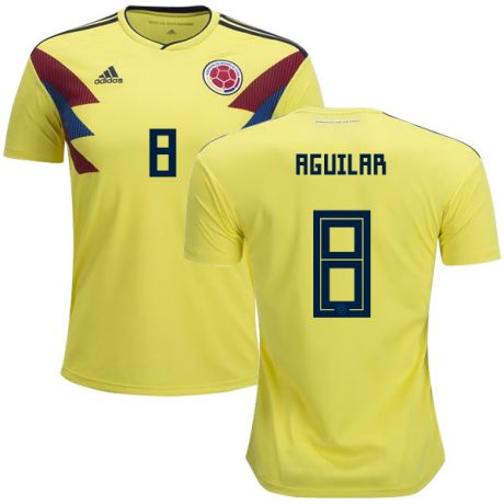 2018 Aguilar Colombia National Team Home Jersey - La Vinotinto Shop