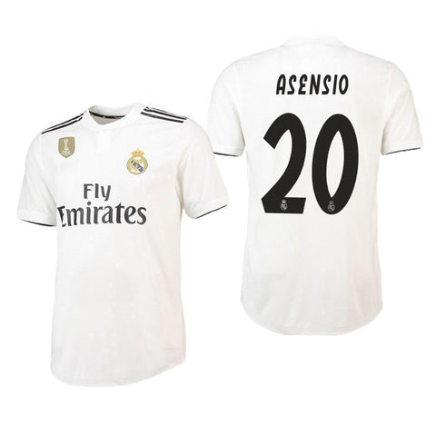 b9fbb52df 2018-19 Season adidas Men s Asensio  20 Real Madrid Club Team Home Jersey -