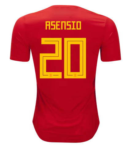 2018 Asensio Spain National Team Jersey