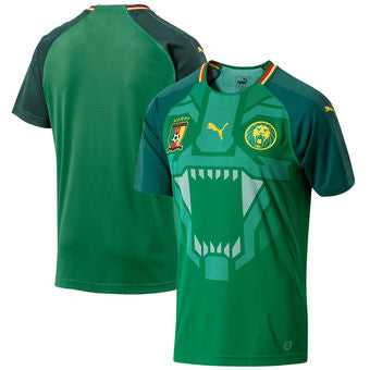 Personalize Your Cameroon Home Jersey - La Vinotinto Shop