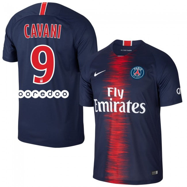 2018-19 Season Cavani #9 PSG Home Club Jersey - Blue - La Vinotinto Shop