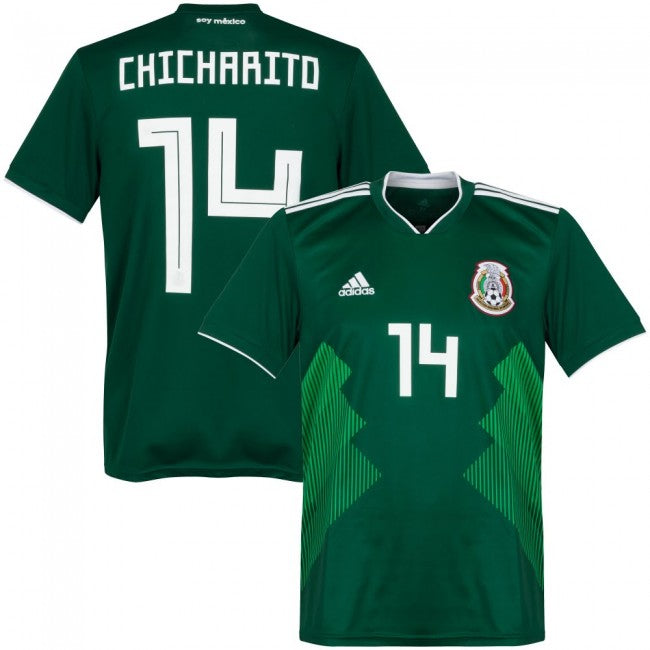 Chicharito 2018 Mexico National Team Jersey - La Vinotinto Shop