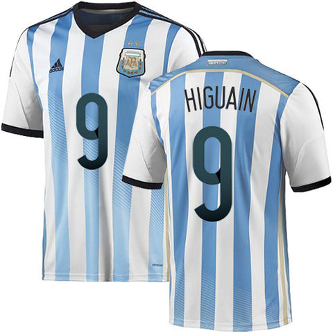 2018 World Cup Higuain Argentina Jersey