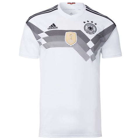 2018 World Cup adidas Germany National Team Home Jersey - White