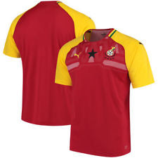Personalize Your Ghana National Team Home Jersey - La Vinotinto Shop