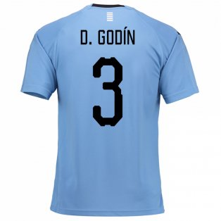 Godin Uruguay National Team Jersey - La Vinotinto Shop