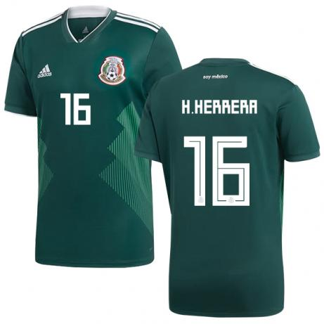 H. Herrera 2018 Mexico National Team Jersey - La Vinotinto Shop