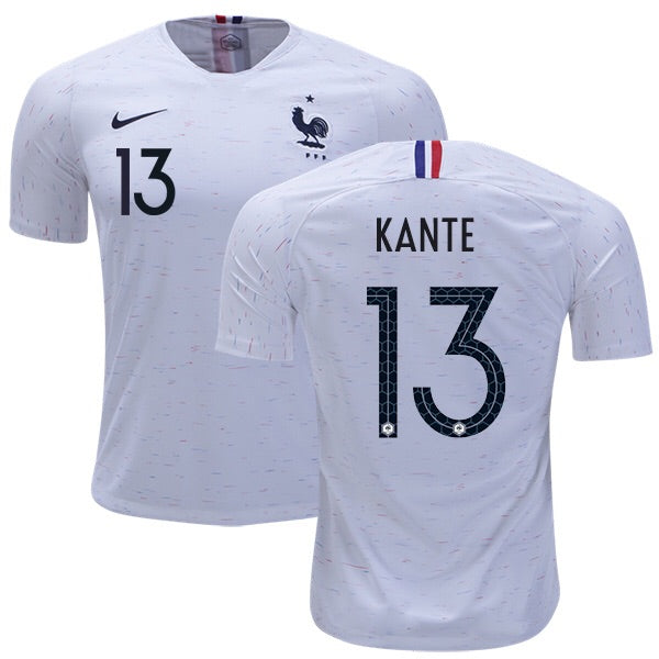 2018 World Cup France Kante #13 National Team Away Jersey - La Vinotinto Shop