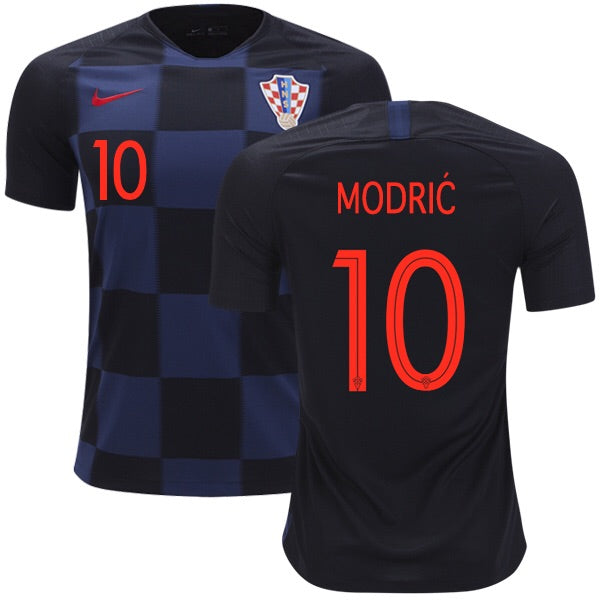 2018 World Cup L. Modrić Croatia National Team Away Jersey - La Vinotinto Shop