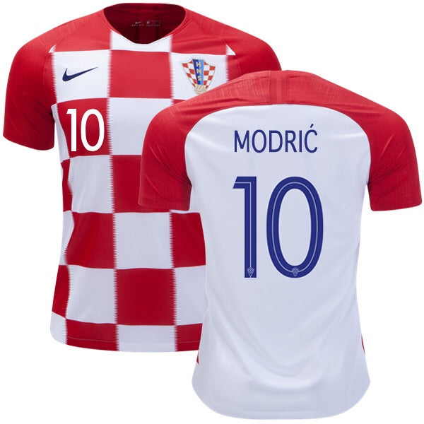 2018 World Cup Vida Croatia National Team Home Jersey - La Vinotinto Shop