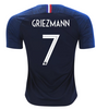 2018 World Cup France 2 Star Griezmann #7 National Team Jersey - La Vinotinto Shop