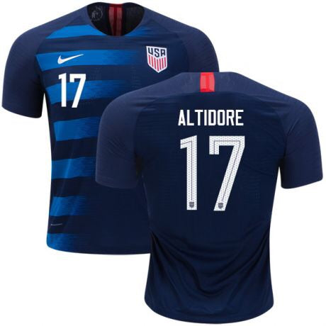 2018 USA Nike Altidore Away Jersey