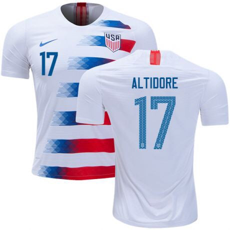 2018 USA Nike Altidore Home Jersey