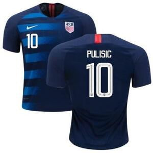 2018 USA Nike Pulisic Away Jersey