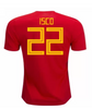2018 Isco Spain National Team Jersey - La Vinotinto Shop