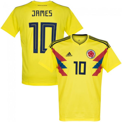 2018 James Colombia National Team Home Jersey