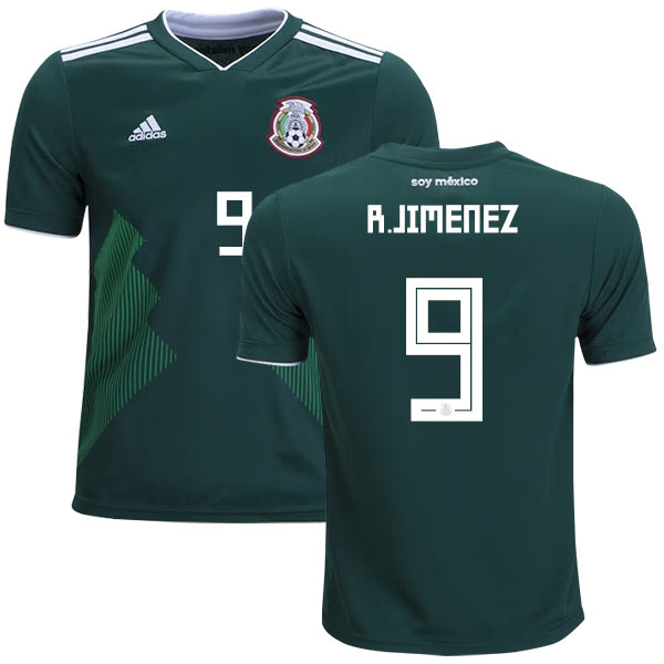 R. Jimenez 2018 Mexico National Team Jersey - La Vinotinto Shop