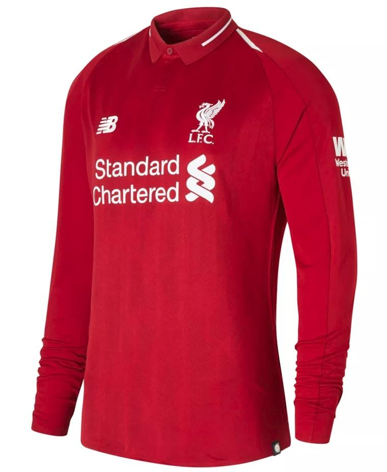 Personalize Your Liverpool FC Home Jersey Long Sleeve