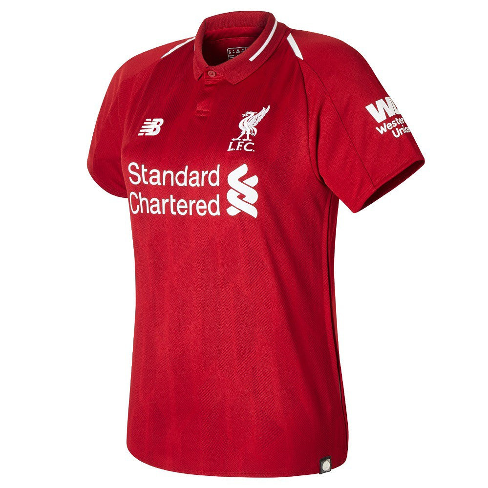 2018-19 Liverpool FC Women's Home Jersey - La Vinotinto Shop